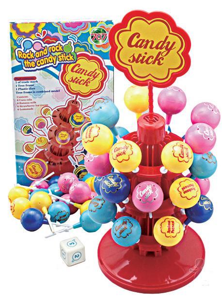 棒棒糖平衡遊戲-腦力激盪桌遊系列