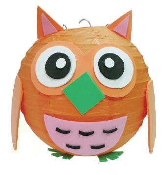 可愛貓頭鷹造型燈籠-創意燈籠系列
