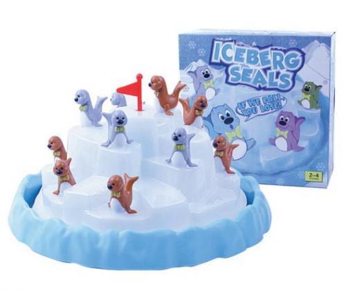 冰山疊海豹-腦力激盪桌遊系列