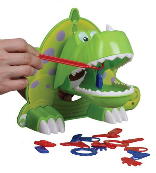 小恐龍的晚餐-腦力激盪桌遊系列
