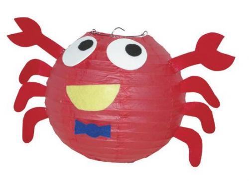 螃蟹造型燈籠-創意燈籠系列