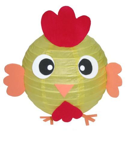咕咕雞造型燈籠-創意燈籠系列