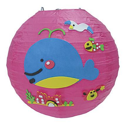 小鯨魚造型燈籠-創意燈籠系列