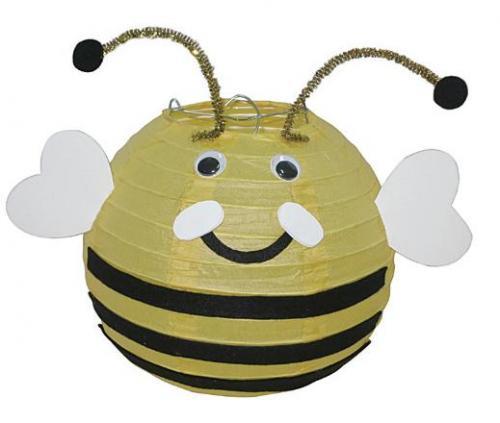 蜜蜂造型燈籠-創意燈籠系列