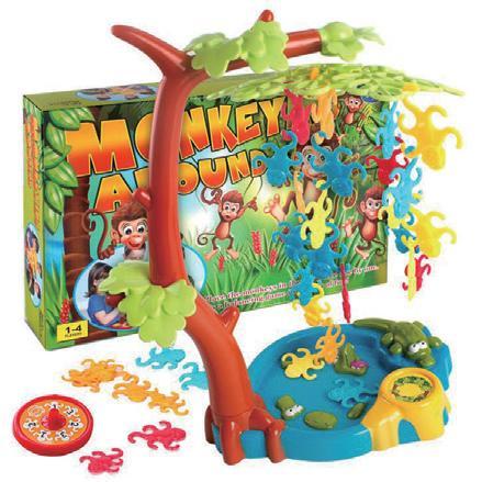 猴子盪鞦韆-腦力激盪桌遊系列