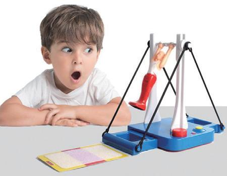 大迴旋體操機~單槓小王子-腦力激盪桌遊系列