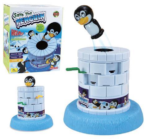 拯救小企鵝-腦力激盪桌遊系列